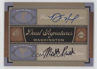 2012 SP Signature Edition Dual Signatures #WAS12 - Matt Purke, Destin Hood