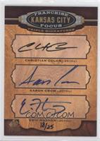 Christian Colon, Eric Hosmer, Aaron Crow /25