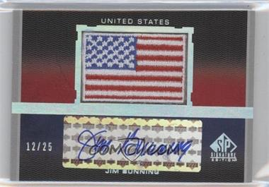 2012 SP Signature Edition Pride of a Nation Autographs #PN-JB - Jim Buccheri /25
