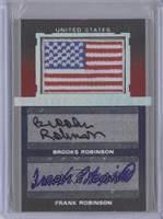 Brooks Robinson, Frank Robinson /10
