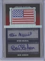 Stan Musial, Bob Gibson /10
