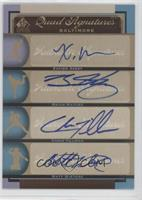 Xavier Avery, Brian Matusz, Chris Tillman, Matt Wieters