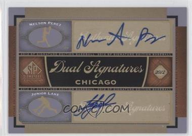 2012 SP Signature Edition #CHC13 - Nelson Perez, Junior Lake