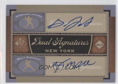 2012 SP Signature Edition #NYY24 - Garrison Lassiter, Brett Marshall