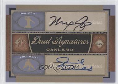 2012 SP Signature Edition #OAK16 - Matt Stairs