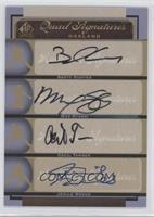 Brian Humphries, Matt Stairs, Jemile Weeks, Brett Hunter, Max Stassi