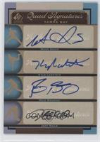 Wade Davis, Reid Brignac, Jeff Malm, Kyle Lobstein