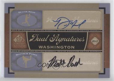 2012 SP Signature Edition #WAS12 - Matt Purke, Destin Hood