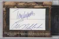 Todd Hollandsworth, Bill Madlock, James Loney /25 [ENCASED]