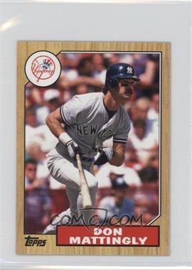2012 Topps - 1987 Topps Minis #TM-140 - Don Mattingly