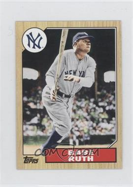 2012 Topps - 1987 Topps Minis #TM-90 - Babe Ruth