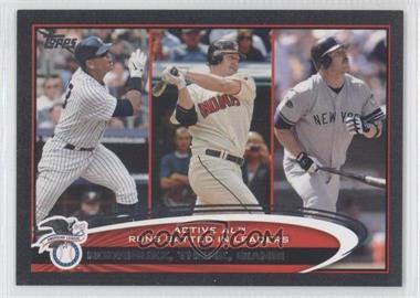 2012 Topps - [Base] - Black #324 - Jim Thome, Jason Giambi, Alex Rodriguez /61