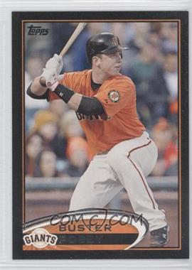 2012 Topps - [Base] - Black #398 - Buster Posey /61
