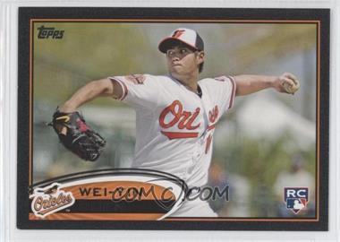 2012 Topps - [Base] - Black #432 - Wei-Yin Chen /61