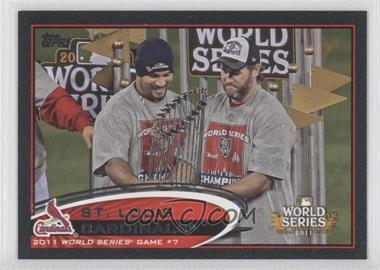 2012 Topps - [Base] - Black #53 - St. Louis Cardinals Team /61