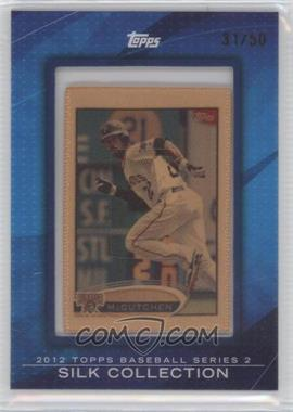 2012 Topps - [Base] - Framed Silk Collection #ANMC - Andrew McCutchen /50