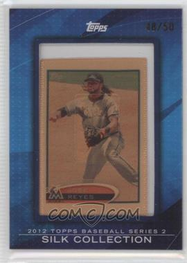 2012 Topps - [Base] - Framed Silk Collection #JORE - Jose Reyes /50