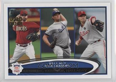 2012 Topps - [Base] - Gold Rush Stamp #156 - Ian Kennedy, Clayton Kershaw, Roy Halladay