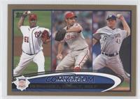 Livan Hernandez, Roy Oswalt, Randy Wolf /2012
