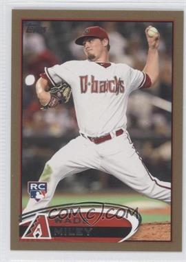 2012 Topps - [Base] - Gold #558 - Wade Miley /2012