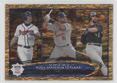 2012 Topps - [Base] - Golden Moments Parallel #159 - Albert Pujols, Todd Helton, Chipper Jones