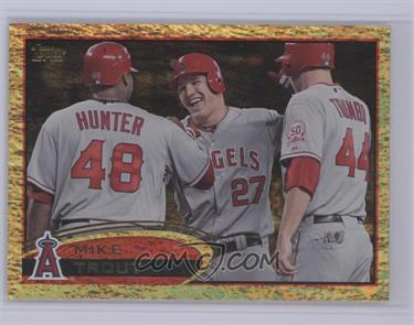 2012 Topps - [Base] - Golden Moments Parallel #446 - Mike Trout [Near Mint‑Mint+]