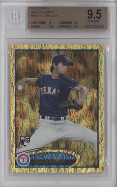 2012 Topps - [Base] - Golden Moments Parallel #660 - Yu Darvish [BGS 9.5]