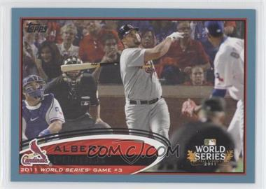 2012 Topps - [Base] - Wal-Mart Blue Border #108 - Albert Pujols