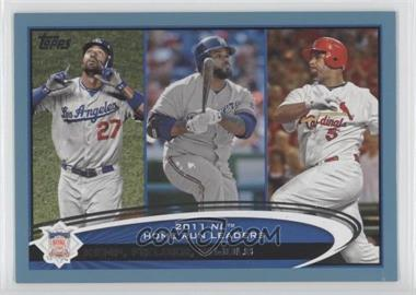 2012 Topps - [Base] - Wal-Mart Blue Border #77 - Matt Kemp, Prince Fielder, Albert Pujols
