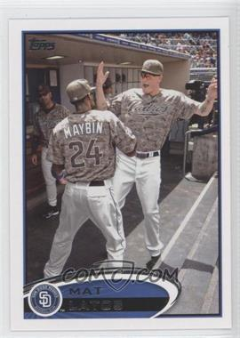 2012 Topps - [Base] #256.2 - Mat Latos (In Dugout)