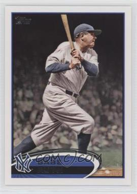 2012 Topps - [Base] #331.4 - Babe Ruth (Legend)