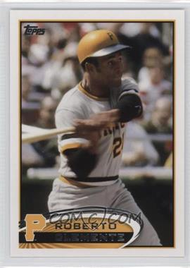 2012 Topps - [Base] #497.3 - Roberto Clemente (Legend)