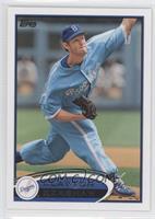 Clayton Kershaw (Blue Throwback Uniform)