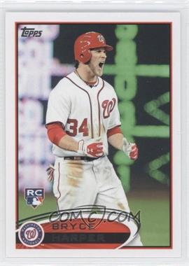 2012 Topps - [Base] #661.2 - Bryce Harper (White Jersey, Excited)