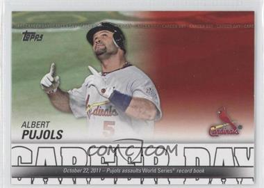2012 Topps - Career Day #CD-1 - Albert Pujols