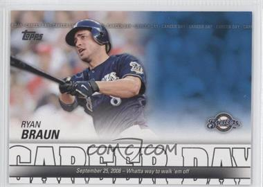 2012 Topps - Career Day #CD-10 - Ryan Braun