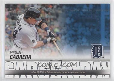 2012 Topps - Career Day #CD-11 - Miguel Cabrera