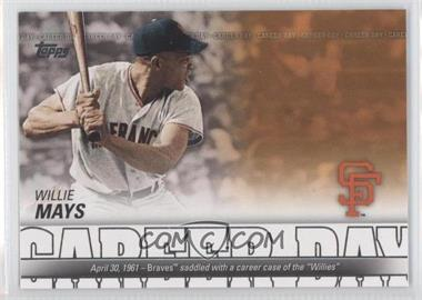 2012 Topps - Career Day #CD-15 - Willie Mays