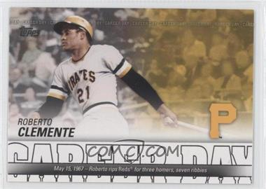 2012 Topps - Career Day #CD-23 - Roberto Clemente