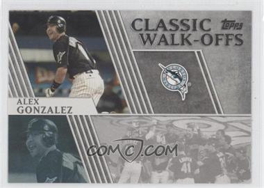 2012 Topps - Classic Walk-Offs #CW-12 - Alex Gonzalez