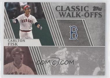 2012 Topps - Classic Walk-Offs #CW-2 - Carlton Fisk