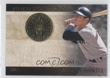 2012 Topps - Gold Standard #GS-24 - Mickey Mantle