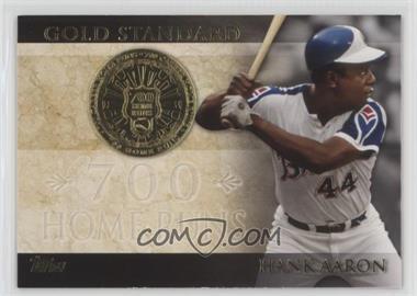 2012 Topps - Gold Standard #GS-31 - Hank Aaron
