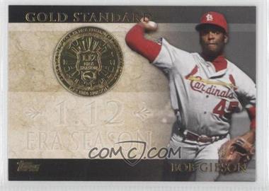 2012 Topps - Gold Standard #GS-33 - Bob Gibson