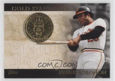 2012 Topps - Gold Standard #GS-39 - Frank Robinson