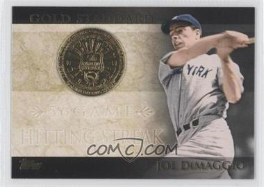 2012 Topps - Gold Standard #GS-46 - Joe DiMaggio