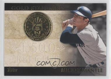 2012 Topps - Gold Standard #GS-47 - Mickey Mantle