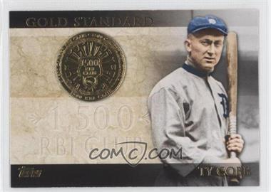 2012 Topps - Gold Standard #GS-50 - Ty Cobb