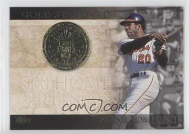 2012 Topps - Gold Standard #GS-7 - Frank Robinson