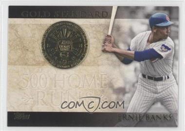 2012 Topps - Gold Standard #GS-8 - Ernie Banks